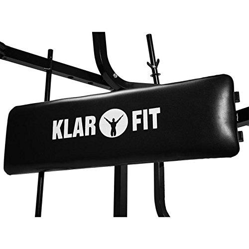 Klarfit Hantelbank Set - 3