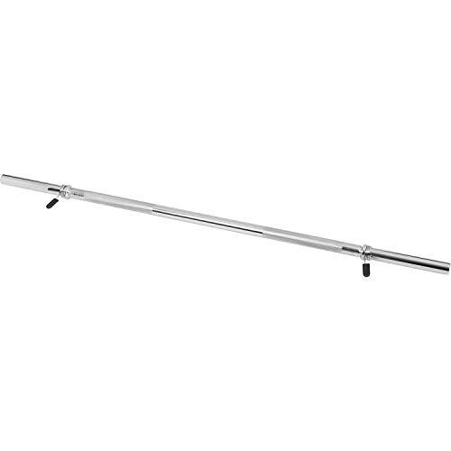 Gorilla Sports Langhantelstange mit Federverschluss, 120 cm, 10000418 - 3