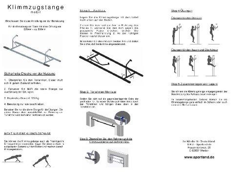 Innovation Fitness Klimmzugstange für den Türrahmen - 5