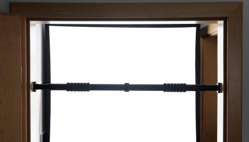 Türreck Klimmzugstange mit Handpolster, transparente Seitengummis, bis 300 kg, inkl. Tranings- und Montagevideo - 10