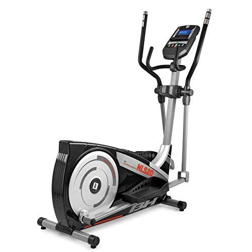 BH Fitness i.NLS20 G2389I Crosstrainer - Ellipsentrainer - Apple/andoid kompatibel - mit Brustgurt